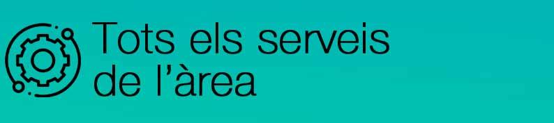 Tots els serveis de l'àrea, (obriu en una finestra nova)