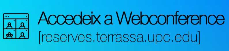 Accedeix a webconference, (obriu en una finestra nova)